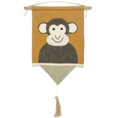 Tenture décorative singe Moos