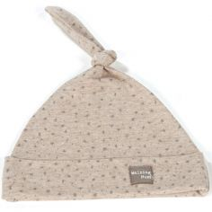 Bonnet de naissance Nordic Baby beige