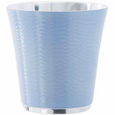 Timbale bleue Pantone personnablisable (métal argenté laqué)