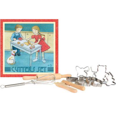 Set d'ustensiles de pâtisserie en bois Egmont Toys