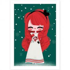 Affiche A4 Noël Marie et le Casse-Noisette