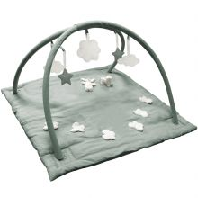 Tapis d'éveil musical avec arches vert céladon (90 cm)  par Trousselier