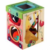 Cube à formes Robobox - Lilliputiens