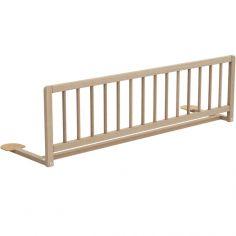 Barrière de lit en bois de hêtre brut Essentiel