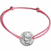 Bracelet cordon enfant Précieuse (argent 925°) - La Fée Galipette