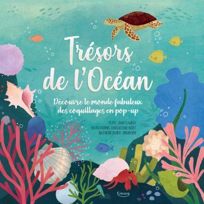 Livre pop-up Trésors de l'Océan  par Editions Kimane