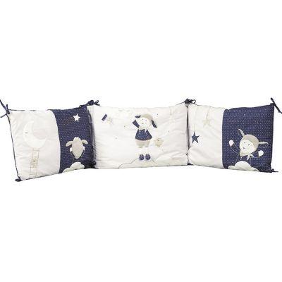 Tour de lit Merlin ( pour lits 60 x 120 cm et 70 x 140 cm)  par Sauthon