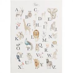 Grande affiche A2 Alphabet animaux