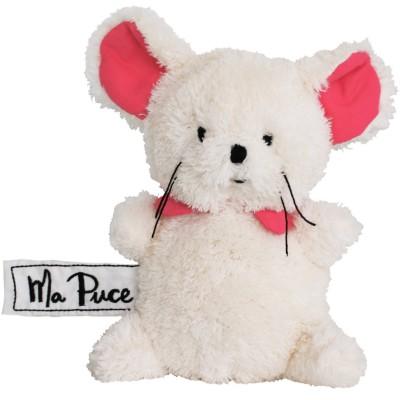 Mini peluche souris Ma Puce (17 cm) Les P'tites Douceurs