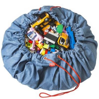 Sac à jouets 2 en 1 Jeans  par Play&Go