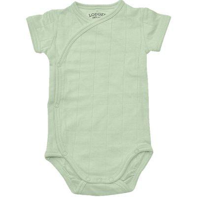 Body manches courtes vert (4-6 mois : 63-68 cm)  par Lodger