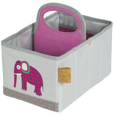 Panier de toilette Wildlife éléphant (16 x 25 cm)  par Lässig
