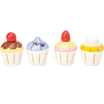 Cupcakes en bois Honeybake  par Le Toy Van