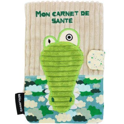 Protège carnet de santé Aligatos l'Alligator  par Les Déglingos