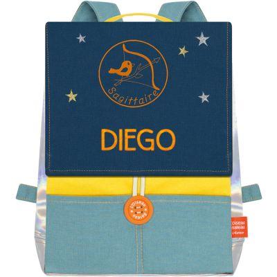 Sac à dos Astro signe astrologique gauloise (personnalisable)  par L'oiseau bateau