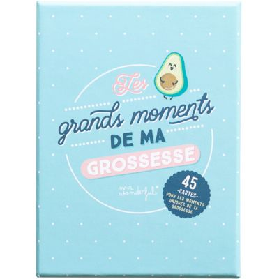 Cartes étapes grossesse Les grands moments de ma grossesse  par Mr. Wonderful