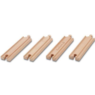 Set de rails en bois - droits EverEarth