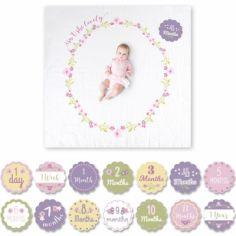 Cartes étapes de bébé et maxi lange Isn't she lovely (14 cartes)