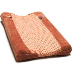 Housse de matelas à langer Dusty Corail (45 x 70 cm)