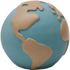 Jouet de dentition Earthy The World Ball