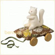 Coussin à roulettes écureuil Forêt  par Trousselier