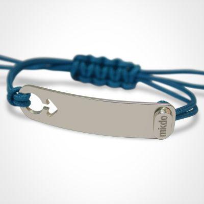 Bracelet I am Garçon (or blanc 750°)  par Mikado