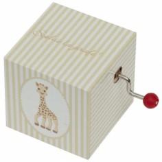 Cube manivelle Sophie la girafe