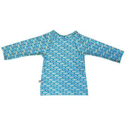 Tee-shirt anti-UV Sardines (6 mois)  par Hamac Paris