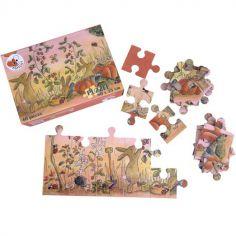 Puzzle potager Lapin (40 pièces)