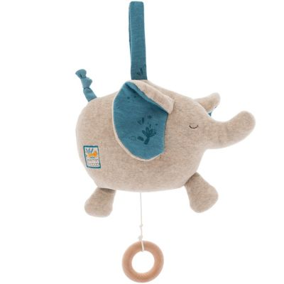Éléphant musical à suspendre Sous mon baobab  par Moulin Roty