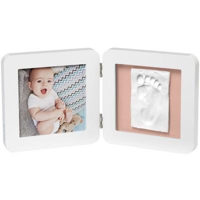 Cadre photo empreinte My Baby Touch simple blanc  par Baby Art