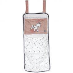 Vide-poches à suspendre Ophélia la licorne