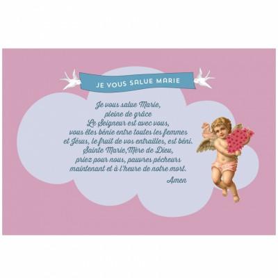 Carte prière Marie  par A cause de toi !