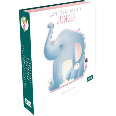 Livre sonore Les petits habitants de la jungle Sassi Junior