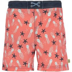 Maillot de bain short Splash & Fun étoiles de mer corail (2 ans)