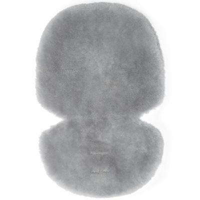 Assise pour poussette en peau de mouton Grey grise  par Mamas and Papas