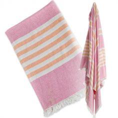 serviette de bain serviettes de bain pour bb sur berceau. Black Bedroom Furniture Sets. Home Design Ideas