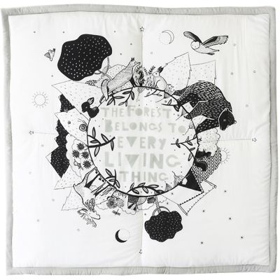 Tapis de jeu Forêt (100 x 100 cm)