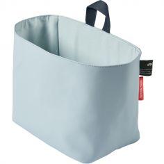 Vide-poches à suspendre en polyester recyclé PET bleu
