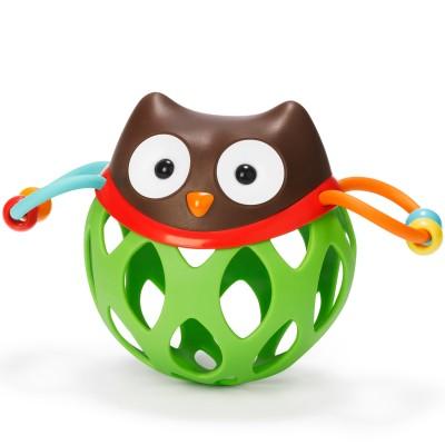 Balle hochet d'activité Hibou  par Skip Hop