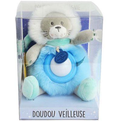 Doudou veilleuse lion Artik cool  par Doudou et Compagnie