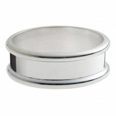 Rond de serviette Jonc (métal argenté)