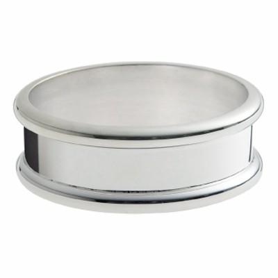 Rond de serviette Jonc (métal argenté)  par Ercuis