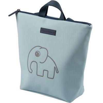 Sac à dos enfant imperméable Elphee éléphant bleu  par Done by Deer