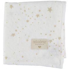 Lange Baby Love Gold stella White (70 x 70 cm) - Nobodinoz