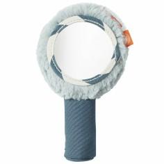 Hochet miroir bleu