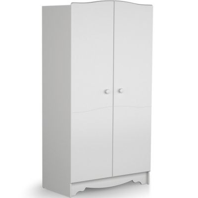 Armoire 2 portes Marelle blanc AT4