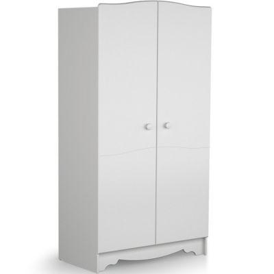 Armoire 2 portes Marelle blanc  par AT4