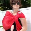 Echarpe de portage Sling Sukkiri rouge - Lucky