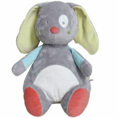 Range pyjama Les petits Malicieux lapin gris (40 cm)